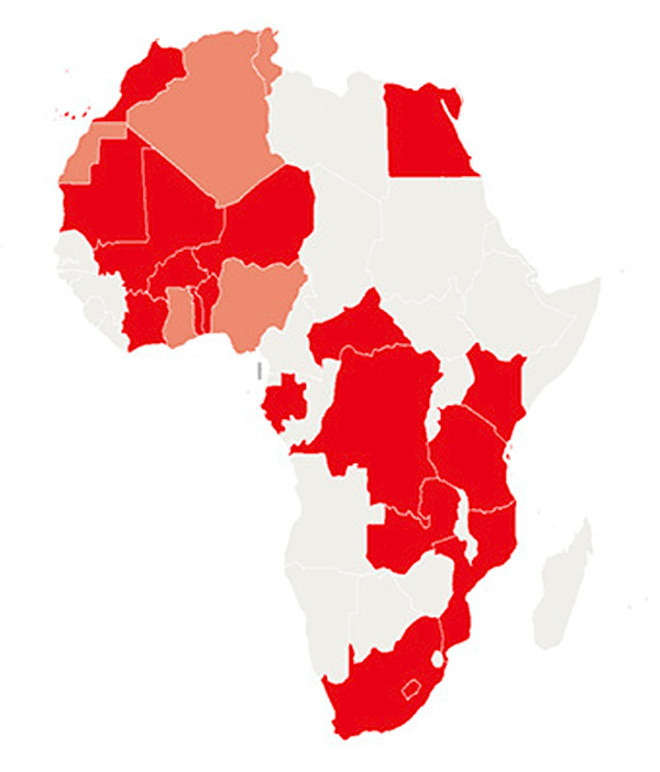 Huawei's penetration in Africa