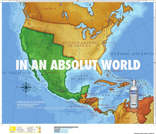 Tuesday Map Absolut Reconquista Foreign Policy - Map-of-mexico-before-us-took-over
