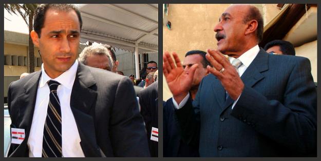Mubarak: Anwar Amro/AFP/Getty Images; Suleiman: Hussein Hussein/PPO/Getty Images