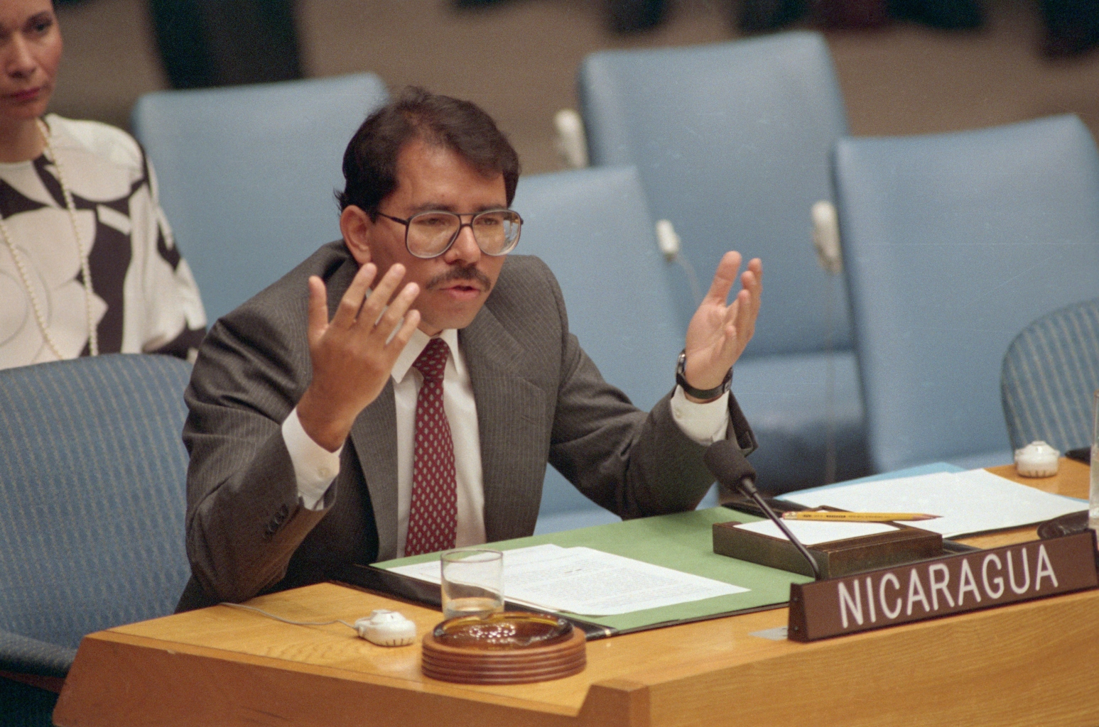 Daniel Ortega Addressing Security Council