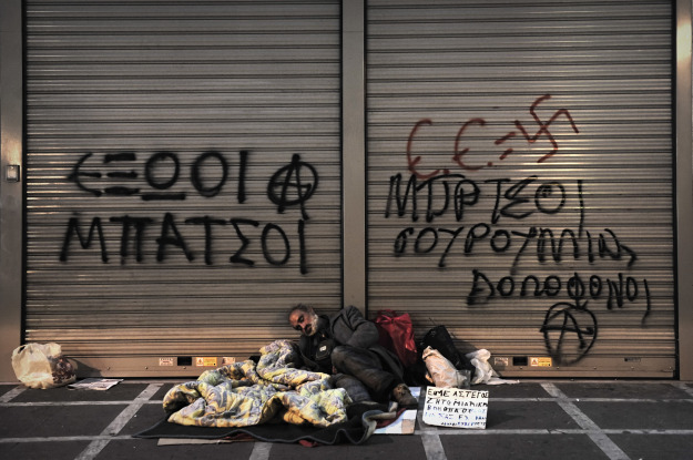 ARIS MESSINIS/AFP/Getty Images