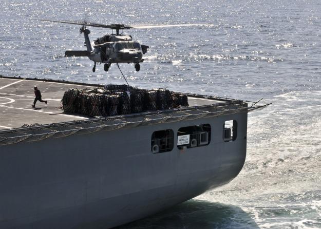 Photo by Mass Communication Specialist 2nd Class Greg Johnson/U.S. Navy via Getty Images
