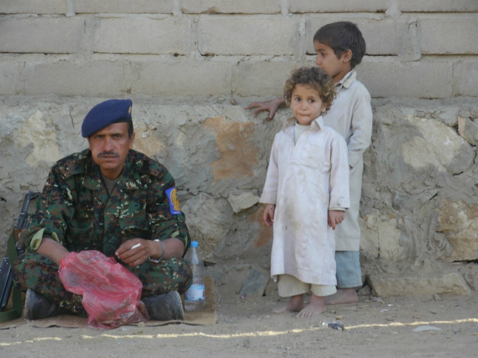 Children  have borne the brunt of the conflict in Yemen's north. The use of child  soldiers has been pervasive, by government forces as well as Houthi groups and  tribal militias affiliated with the government. An estimated 220 of the  725 schools in Saada governorate have been destroyed,  damaged or looted.