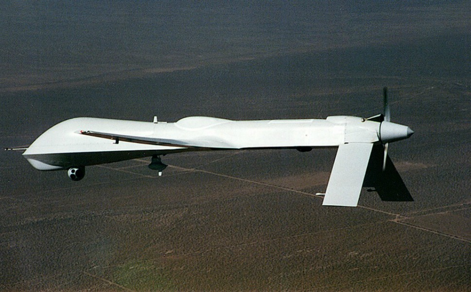 1994:  MQ Predator drone          General Atomics manufactured the MQ Predator drone in 1994. This updated version allows the Predator to transition from a strictly reconnaissance role to a critical ability to transport and launch weapons at targets. More than 125 Predators have been delivered to the U.S. Air Force and six are in use by the Italian Air Force. Predator UAVs have been operational in Bosnia since 1995 to aid NATO, U.N., and U.S. operations in Iraq and Afghanistan, but are gradually being phased out.