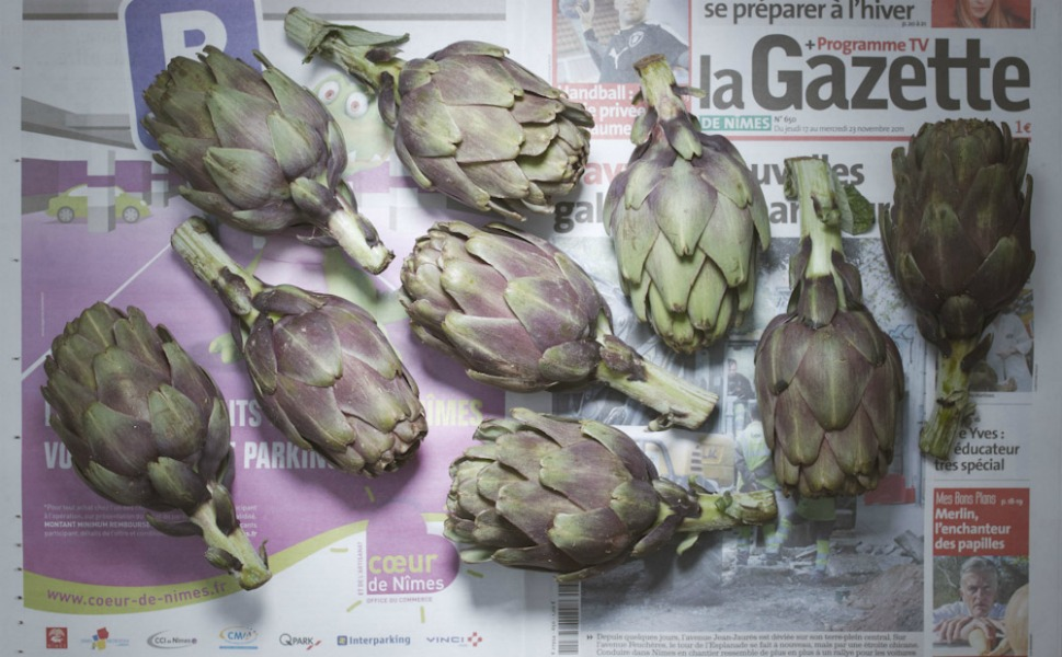 5.60 euros, or 7.45 U.S. dollars, of French artichokes.