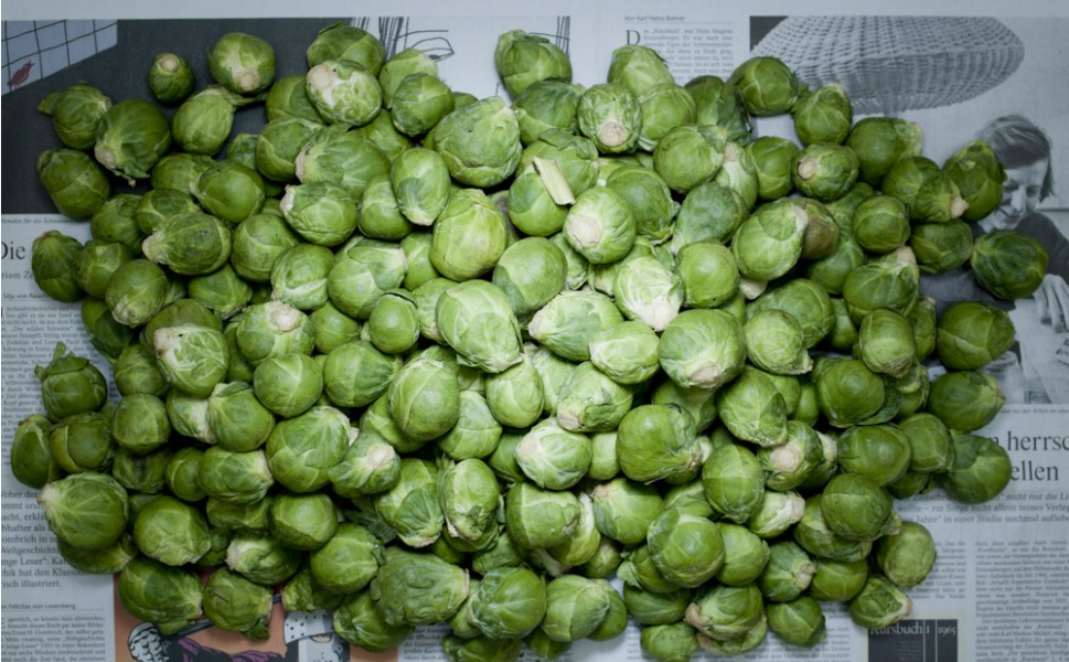 4.82 euros of German Brussels sprouts.
