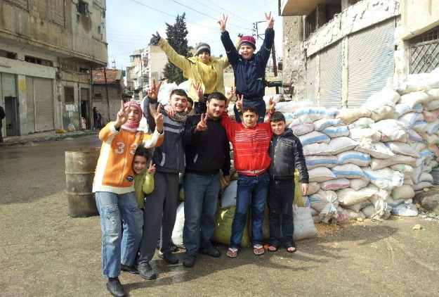 """As Assad's forces seal off Homs, many neighborhoods are  suffering from critical shortages of food and medical supplies. """"We  are watching the wounded die. All we are doing is using pieces of clothes to  cover their wounds then watch them die,"""" one Baba Amro resident told Reuters."""