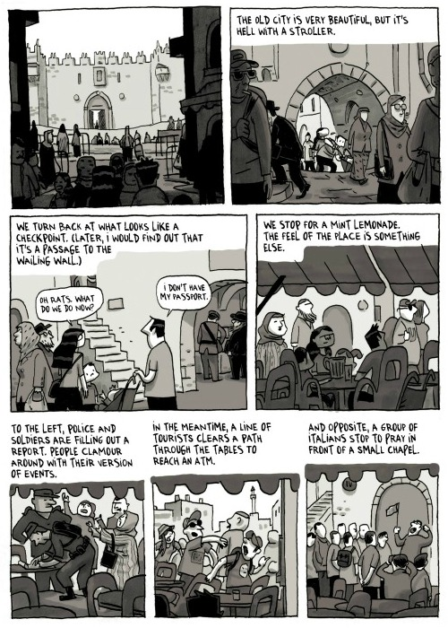 Jerusalem: This Year in a Comic Book – Foreign Policy
