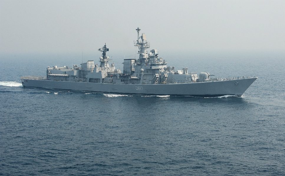 India has also focused on increasing its sea power. The country plans to spend almost $45 billion  over the next 20 years on its navy, building 103 new warships, destroyers, and nuclear  submarines.