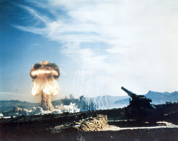 Operation Upshot-Knothole, May 25, 1953, via Wikimedia Commons