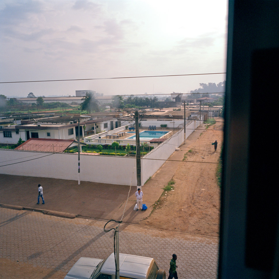 The country's inequality of wealth, which prompted much of the resentment against foreigners, remains stark. Above, the home of a cocoa exporter in San  Pedro, Ivory Coast on March 6, 2012.