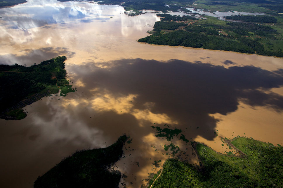 The construction of the Jirau and San  Antonio dams in the Rondônia state of Brazil has caused flooding in the region,  displacing locals and releasing large quantities of methane gas. So far  though, the drive for development is overpowering environmental  concerns about the IIRSA initiative.
