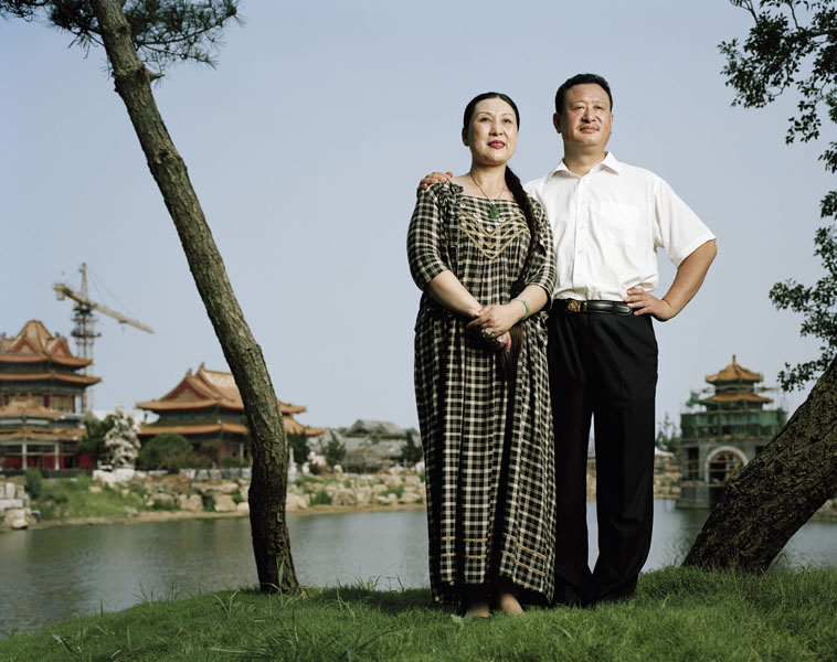 "Ma Jing and Li Haifeng, owners of Penglai Eight Immortals business empire       Ma Jing, the daughter of a general, and her husband, Li Haifeng, are arguably the most powerful people in the city of Penglai and the owners of a business empire. They call themselves the ""Magic Couple."" Their latest project is building a luxury hotel complex in the style of an imperial palace. Ma describes her real estate holdings as China's answer to Versailles, the centerpiece of a business empire that Ma built together with her husband. Ma defied her father when she married Li and quit her job as a doctor in order to go into business with her husband; a restaurant was the first step in constructing their real estate empire."