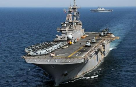 Mass Communication Specialist 2nd Class Mark R. Alvarez/U.S. Navy via Getty Images