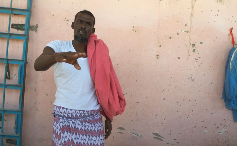 """There were some successful arrests of powerful pirates. One major target was a former lobster fisherman turned pirate leader  named Abshir """"Boyah,"""" pictured above in Bosaso   prison. Pelton says, """"The 44-year-old is from Eyl, and became one of the most successful  pirates after beginning to ply his trade in 1998. He had captured over 30   ships by the time he was first arrested in 2010, giving a number of media   interviews as a 'reformed pirate' before he was caught planning pirate   attacks with $29 million dollars and two pistols in his SUV. He was put back  in prison in 2011. He insists he was protecting the seas."""""""
