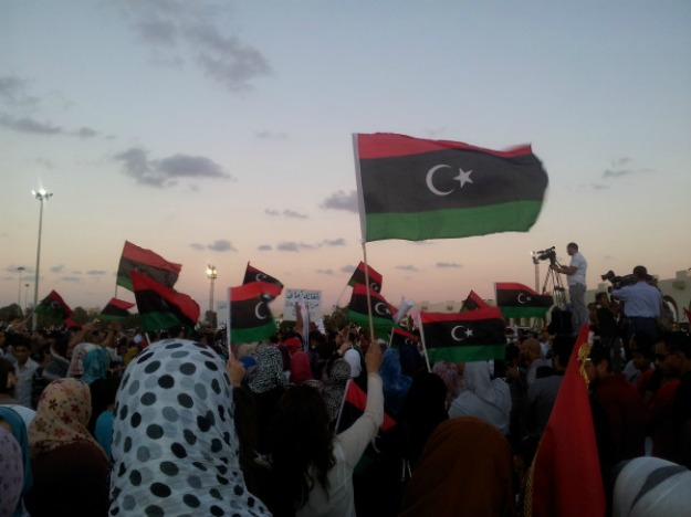 Benghazi photo found on Flickr