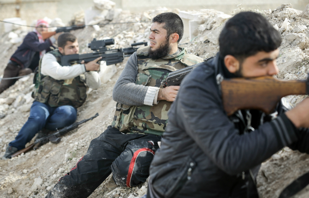 John Cantlie/AFP/Getty Images