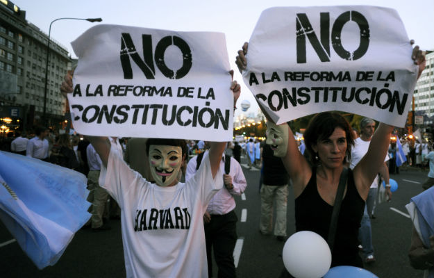 ALEJANDRO PAGNI/AFP/Getty Images