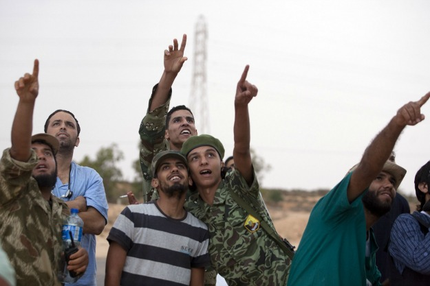 Majid Saeedi/Getty Images; Misrata Military Council