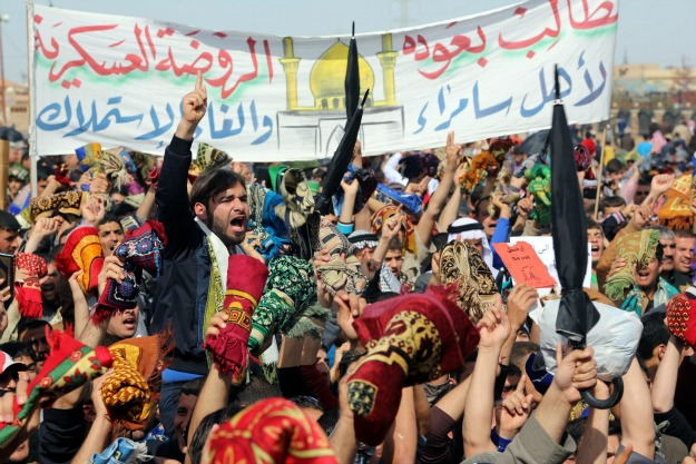 MAHMOUD AL-SAMARRAI/AFP/Getty Images