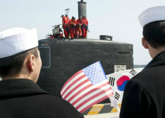 U.S. Navy photo by Mass Communication Specialist 2nd Class Joshua B. Bruns/Released