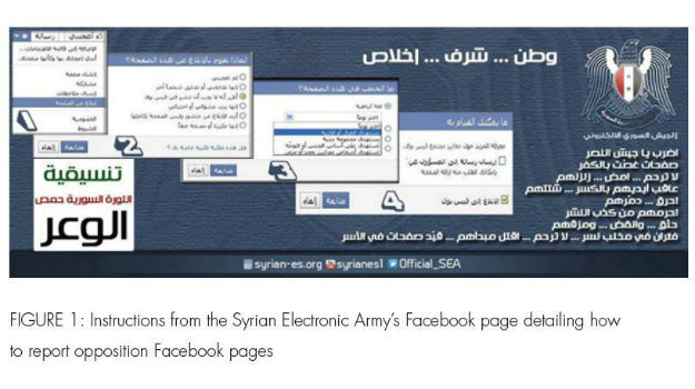 Syrian Electronic Army steps up attacks on opposition
