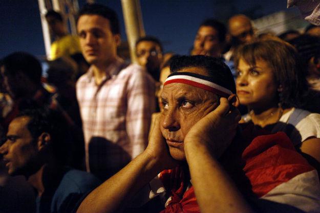 MAHMUD KHALED/AFP/Getty Images