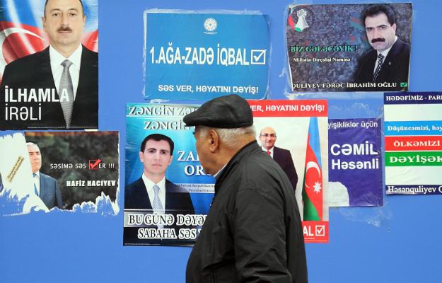 TOFIK BABAYEV/AFP/Getty Images