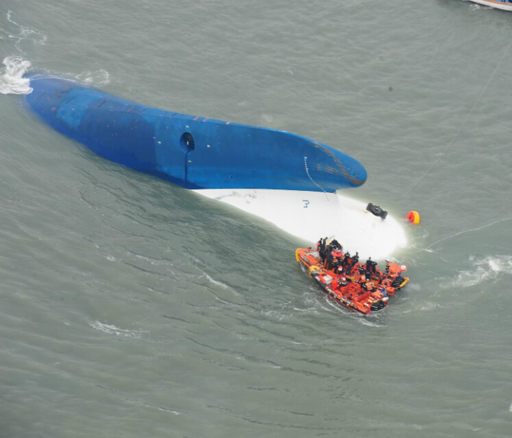 Photo by The Republic of Korea Coast Guard via Getty Images