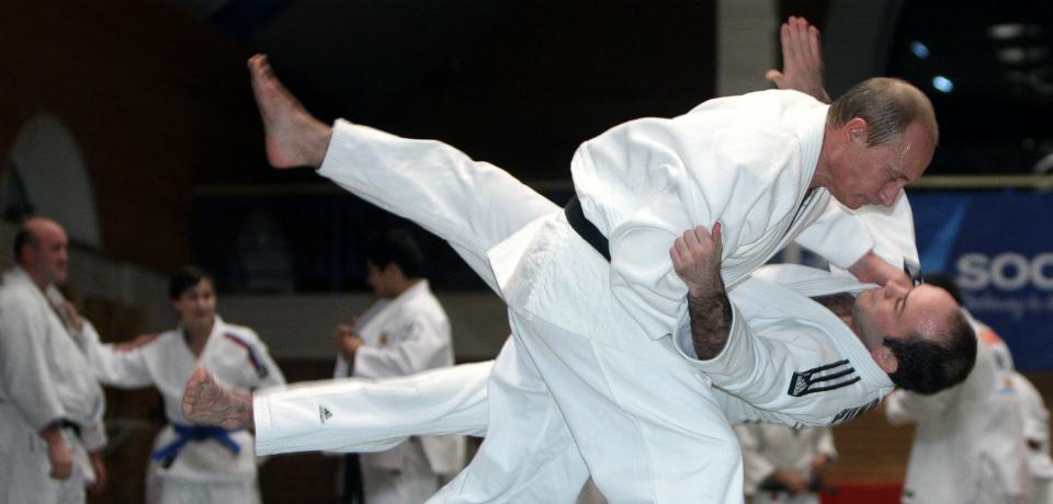Putin and His Judo Cronies