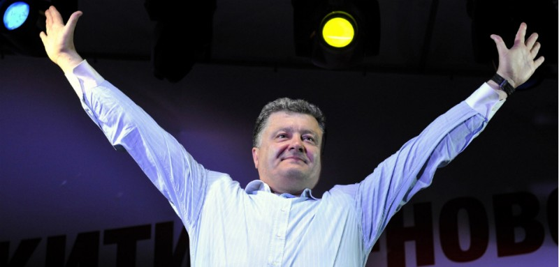 AFP PHOTO / POROSHENKO PRESS-SERVICE / MYKOLA LAZARENKO