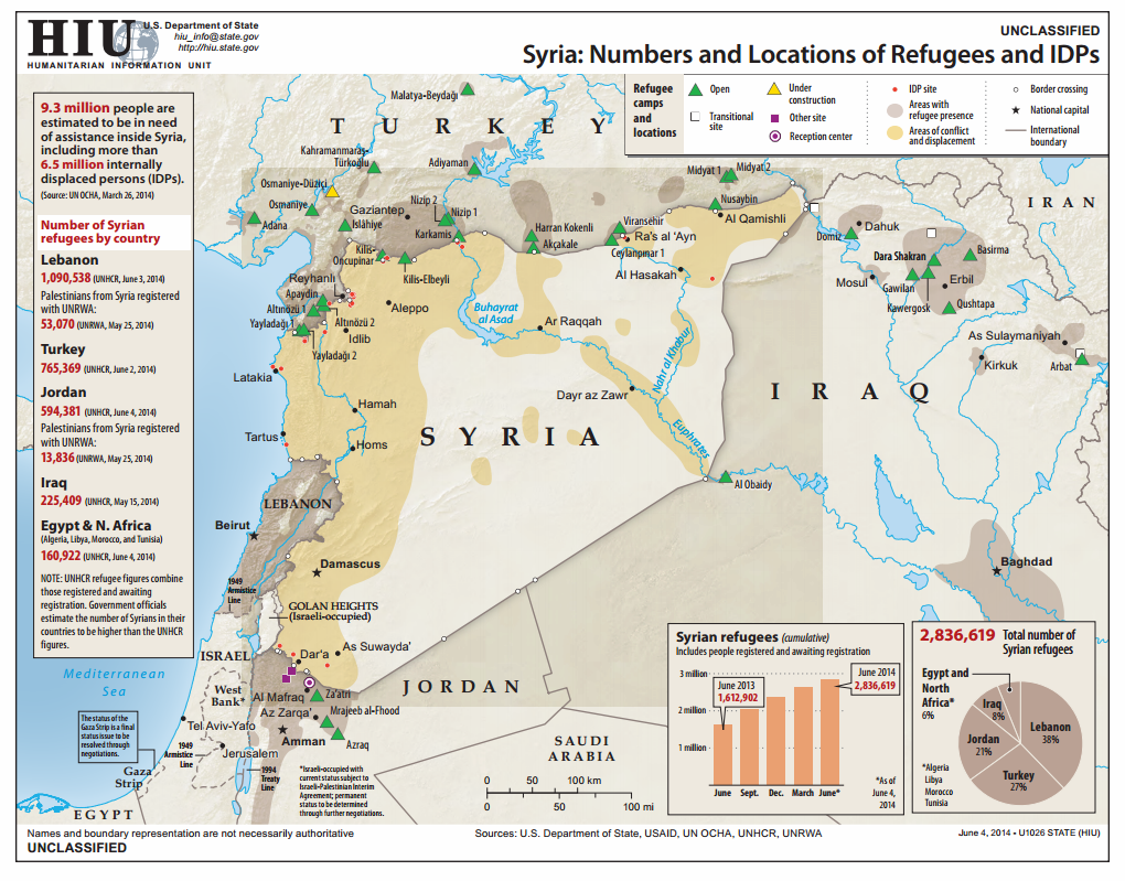The Beginning of a Caliphate: The Spread of ISIS, in Five