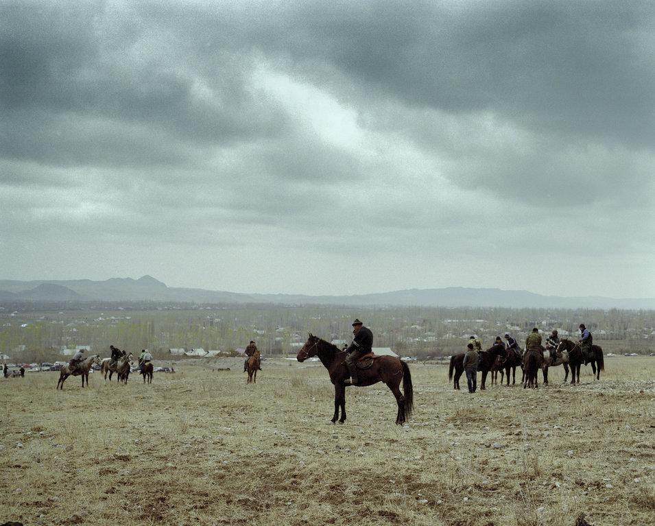 Ulak tartysh players leave their villages.       Fyodor Savintsev/Salt Images, 2013