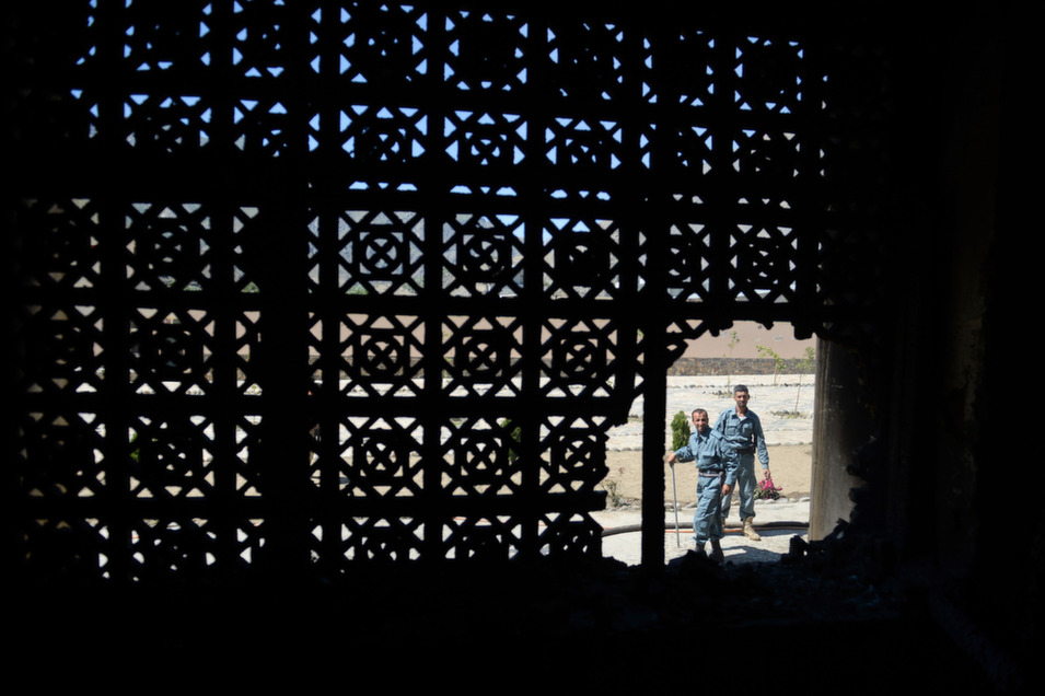7. Afghanistan, 106.5        Afghanistan's ranking on the index remains stubbornly unchanged from previous years, as the country continues to struggle with internal violence and fragile governmental institutions. Not since the U.S. invasion in 2001 has Afghanistan seen this many citizens leaving the country, which is still racked by not just the Taliban but also by corruption. While U.S. and coalition casualties decreased in 2013, a marked upswing in the death of Afghan troops and civilians as a result, in part, of an uptick in Taliban attacks, does not bode well for the country as international troops prepare to withdraw and Afghan troops make plans to take the lead in the fight against the Taliban and other insurgents. Along with the looming drawdown, the billions of dollars in foreign aid that have poured into the country over the past decade will slow to a trickle, and the effects of economic decline are already visible. In 2013, the country's opium production hit record levels, increasing by almost 50 percent, according to United Nations estimates.      Afghan defense personnel inspect the scene of a suicide attack in Bazarak district, Panjshir province, on May 29, 2013.      Shah Marai/AFP/Getty Images