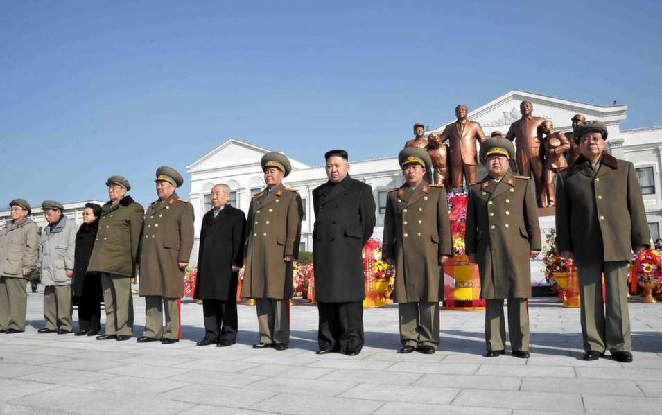 "26. North Korea, 94.0        While an accurate picture of life in North Korea is hard to come by, there is little doubt the hermit kingdom remains perhaps the most repressive country in the world. North Korea has actually improved in the rankings over the past decade (in 2005 for example it was number 15 on the list). Still, a scathing United Nations report released this year accused the government of dictator Kim Jong Un of crimes against humanity. The regime, which faces tough international sanctions as a result of its nuclear program, is charged in the report with crimes against its own citizens that include extrajudicial killings, forced labor, and starvation. ""The gravity, scale and nature of these violations,"" says the commission, ""reveal a State that does not have any parallel in the contemporary world.""      Above, North Korean leader Kim Jong-Un and senior officials from the government and army pose before the statues of late leaders Kim Il-Sung and Kim Jong-Il at Mangyongdae Revolutionary School in Pyongyang on Feb. 16, 2013.      KNS/AFP/Getty Images"