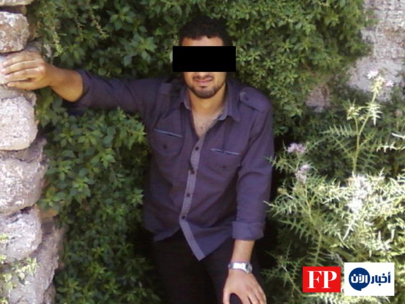 Muhammed S. in Tunisia, 2010.       Courtesy Harald Dornboos/Jenan Moussa