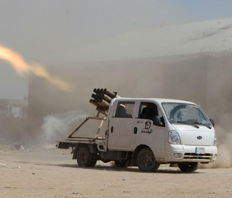 Photo by AHMAD AL-RUBAYE/AFP/Getty Images