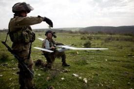 Israeli Troops Showcase Rapid Launch Surveillance Drone