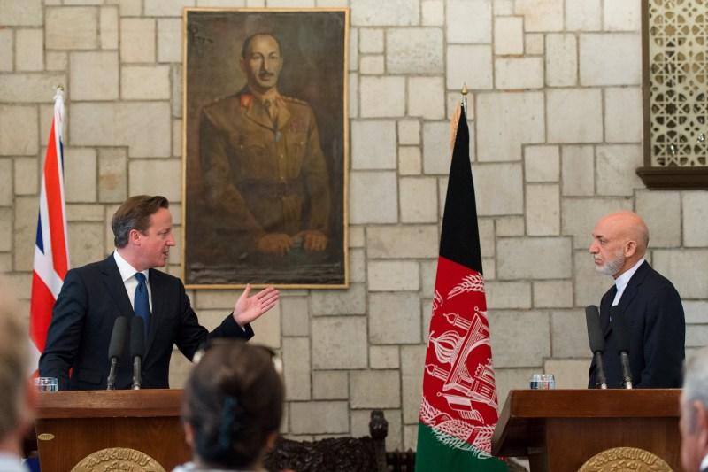 BRITAIN-AFGHANISTAN-POLITICS-CAMERON