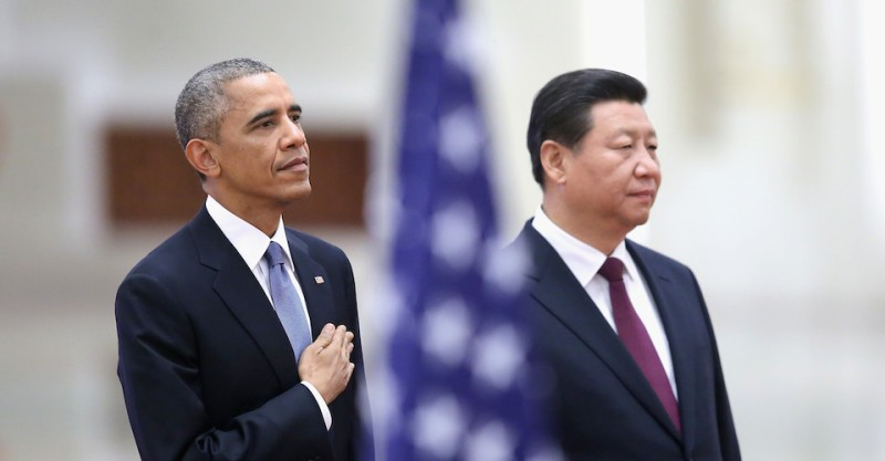 U.S. President Barack Obama Visits China