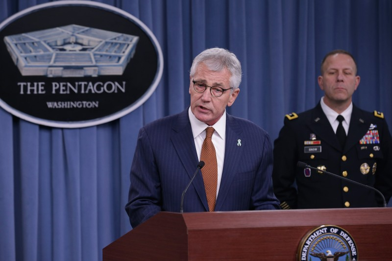 Defense Secretary Hagel Discusses Department's Recent Progress On Addressing Sexual Assaults In The Military