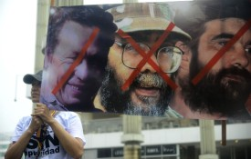 COLOMBIA-PROTEST-FARC