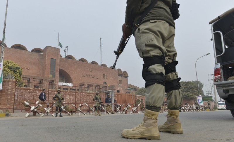 PAKISTAN-SCHOOL-UNREST-CRICKET-SECURITY