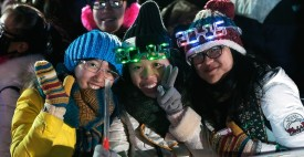 Beijing Holds New Year's Eve Countdown Event Themed On 2022 Winter Olympic Bid