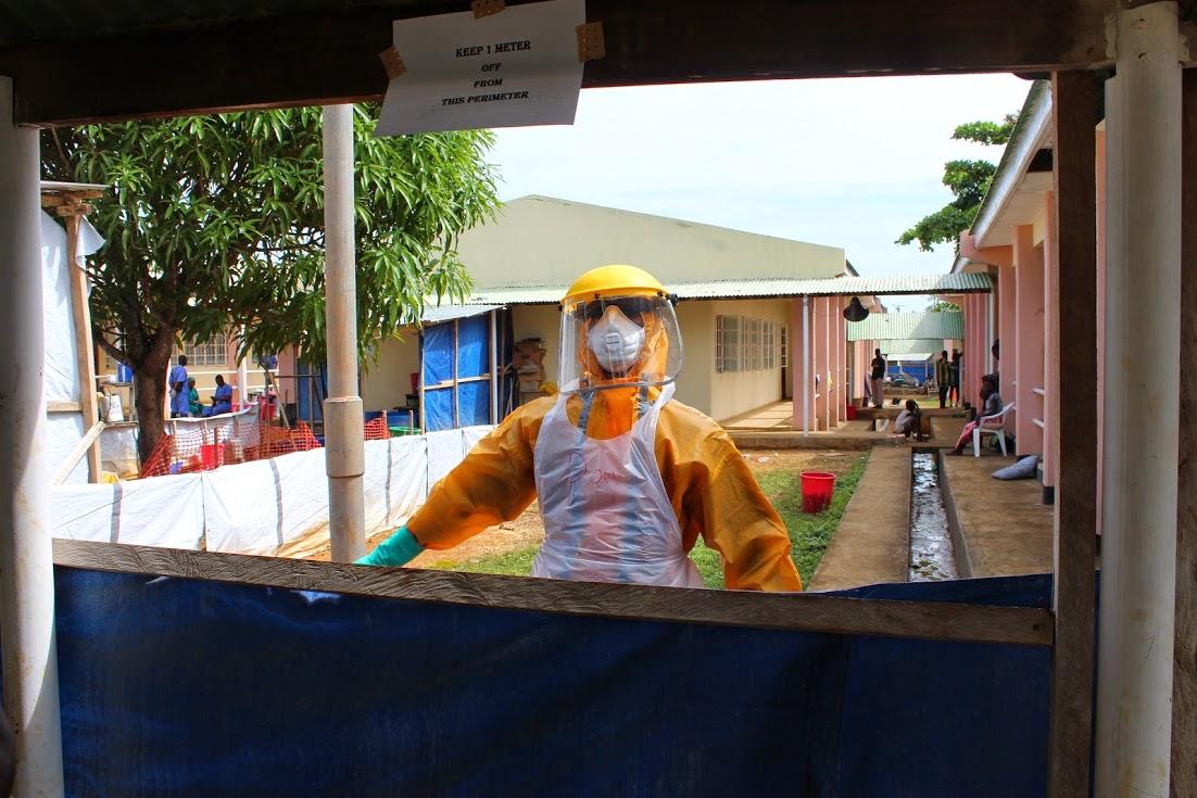 Hasting Ebola Treat Unit