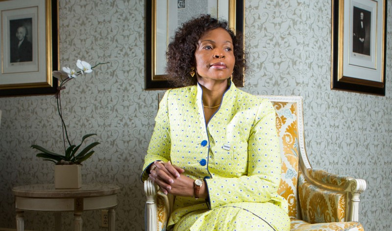 Maite Nkoana-Mashabane, South African Minister of International Relations and Cooperation