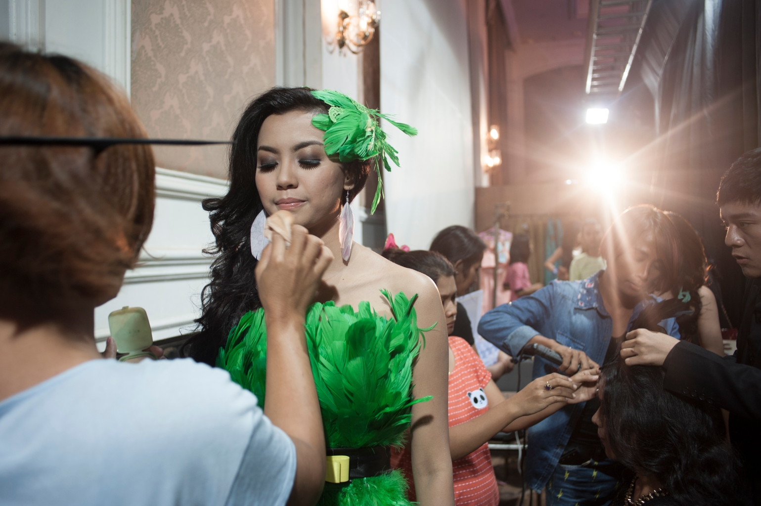 Images from the burgeoning pageant scene in Yangon, where glamour exists side-by-side with sleaze and sex work.