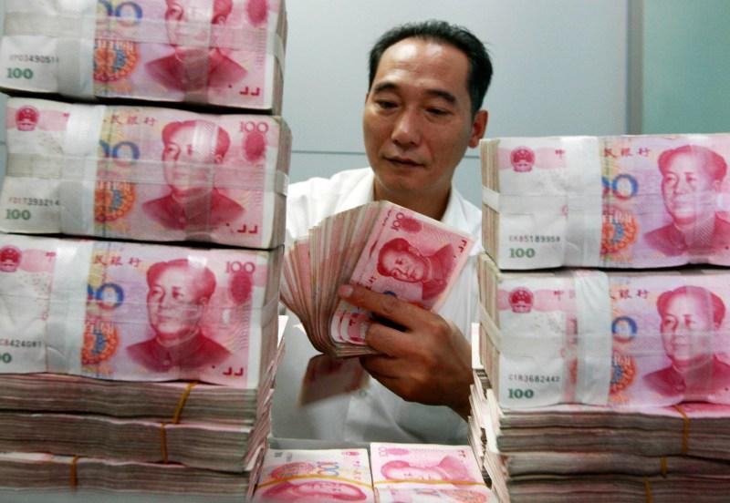 CHINA-ECONOMY-FOREX