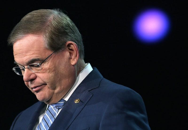 Sen. Robert Menendez Speaks At AIPAC