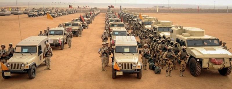 Egypt reinforces its armies in Sinai